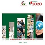 Capa do Plano Global de Avaliação do Portugal 2020